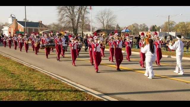 Romulus Marching Band 2016