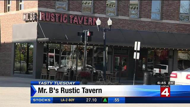 Tasty Tuesday: Mr. B's rustic tavern