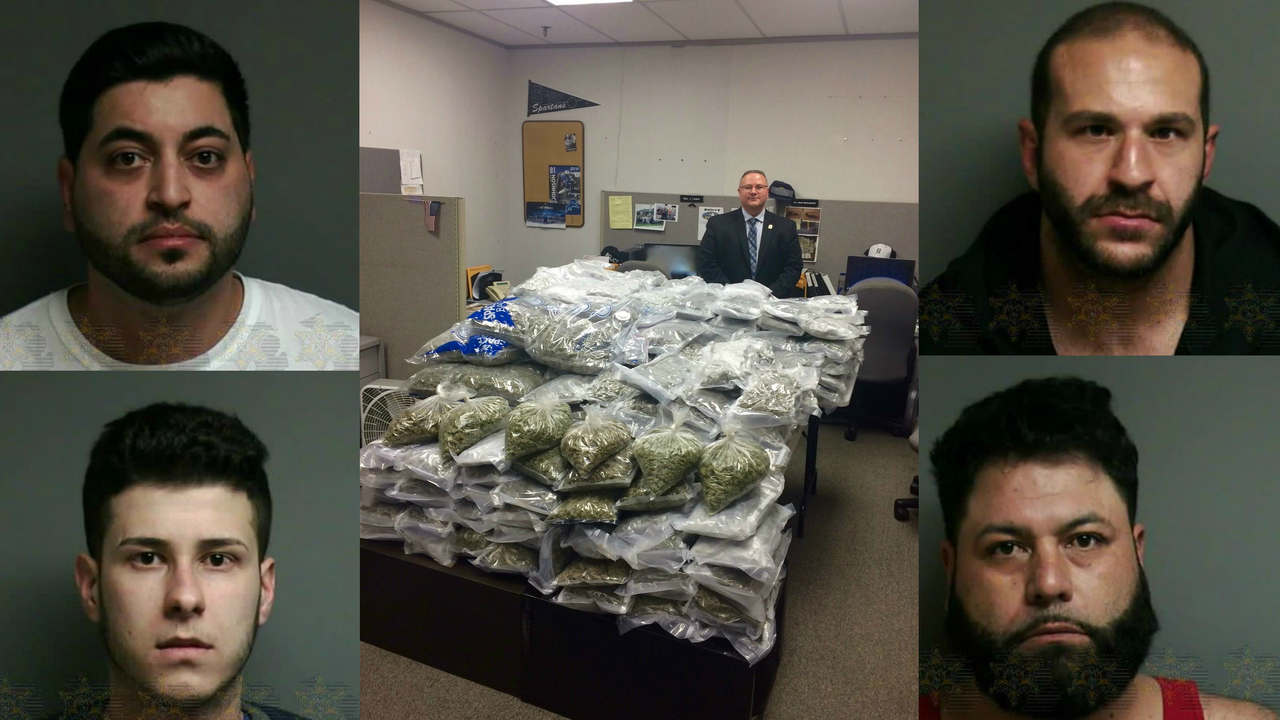 Police Recover 200 Pounds Of Illegal Marijuana During