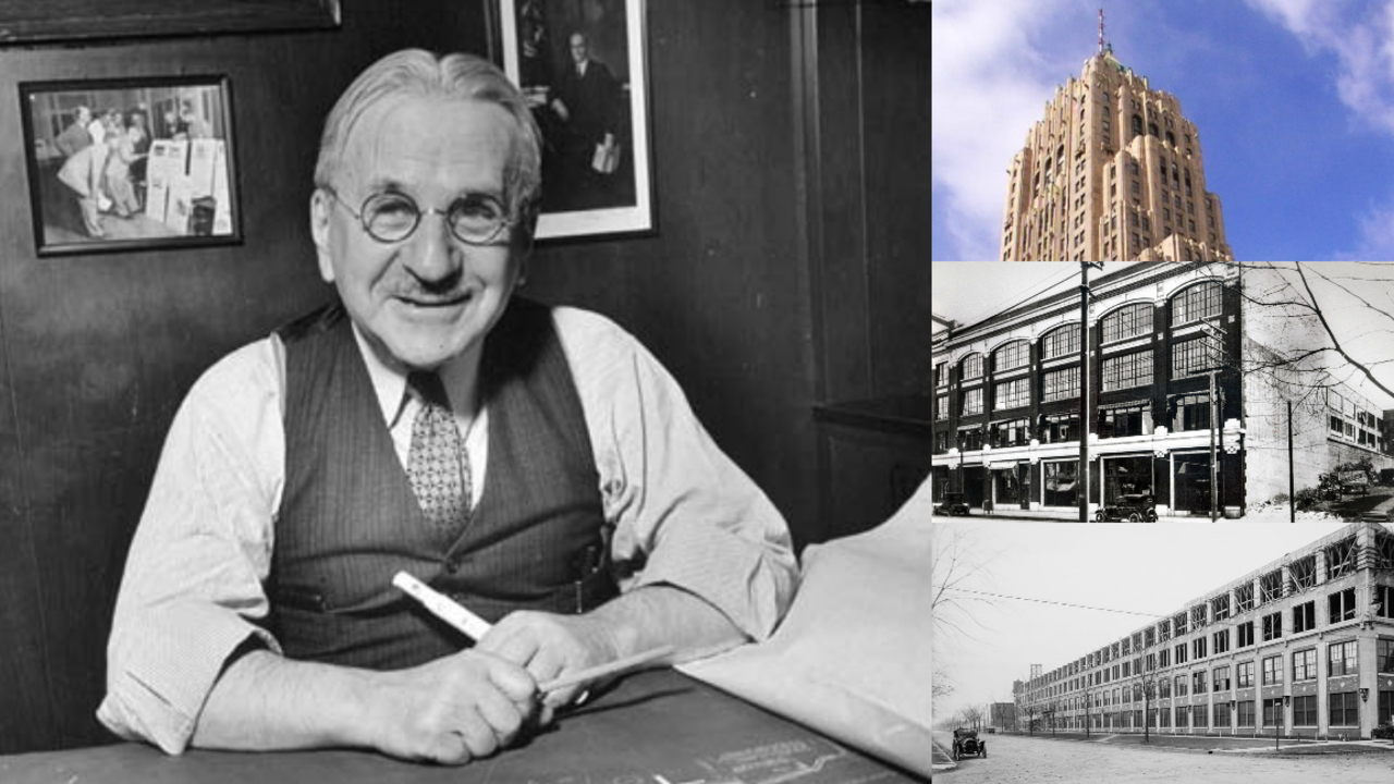 Albert kahn architect of detroit for Al kahn