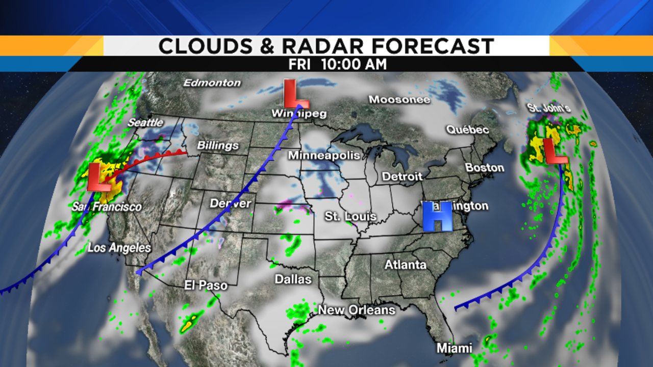 Metro Detroit Weather Big Christmas Warmup Still On Track - Us travel map weather