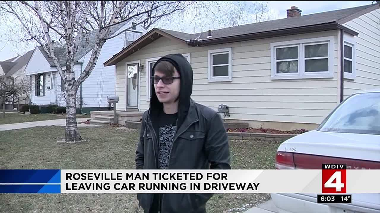 Man Get Ticket For Warming Up Car In Driveway