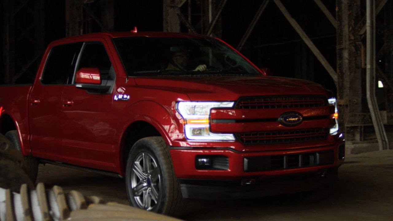 Ford unveils new 2018 F-150