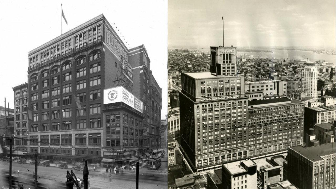 Iconic Detroit Buildings Hudson S Department Store