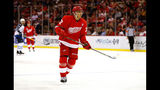 Athanasiou scores in OT again to lift Red Wings over Hurricanes, 4-3