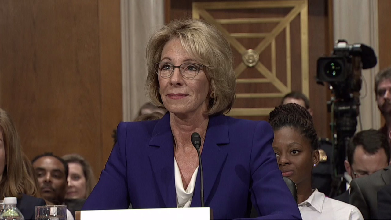 A closer look at Betsy DeVos