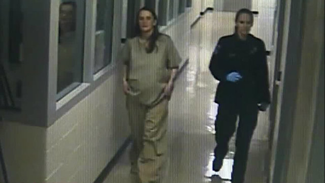 Jessica Preston gives birth in Macomb County Jail