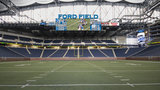 Detroit Lions remove playoff banner from Ford Field