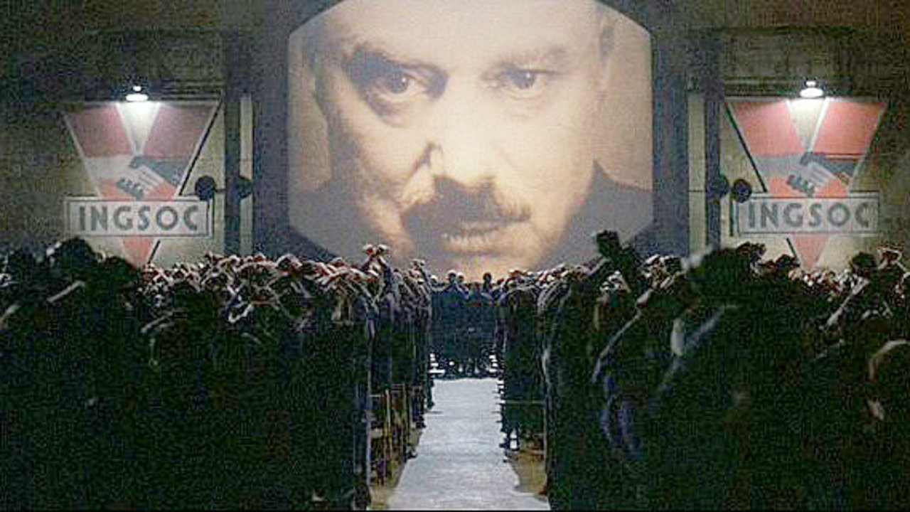 Orwell's 1984 being played out with arrest of Assange
