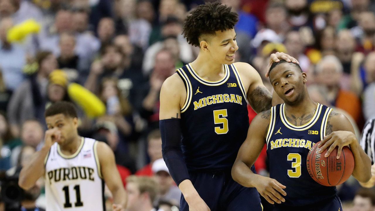 2017 Big Ten Tournament What time does MichiganMichigan Basketball