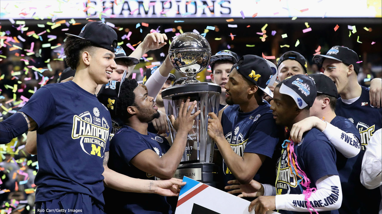 Michigan basketball looks to defend Big Ten Tournament title at Madison Square Garden