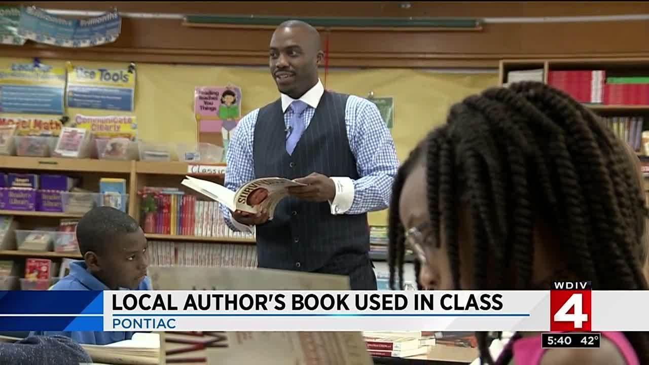 Detroit author's book used in Pontiac school