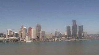 LIVE CAM: View of Detroit riverfront