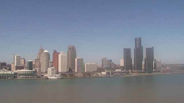 LIVE CAM: View of Detroit riverfront