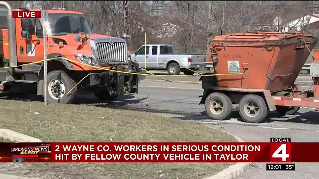 Wayne County workers seriously hurt on job in Taylor