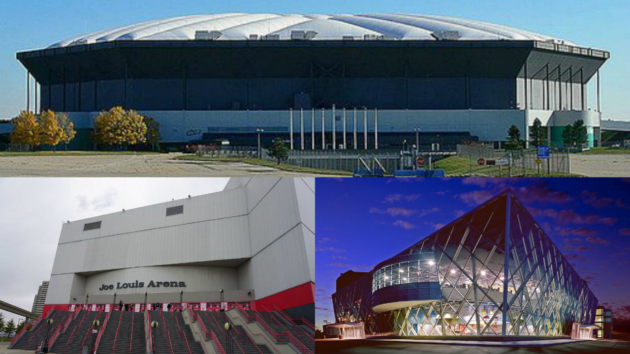 Metro Detroit could soon be without Joe Louis Arena, Palace...