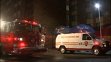 Apartment fire investigation in Royal Oak Township
