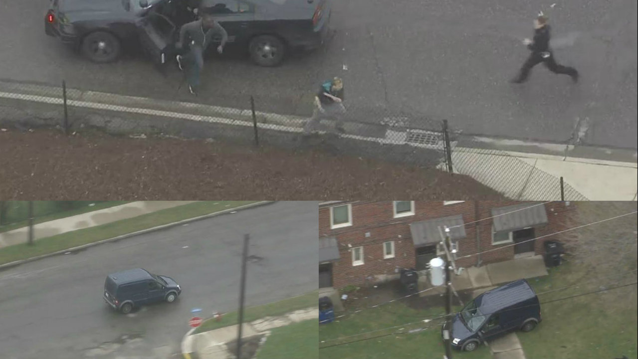 Varsity Ford Ann Arbor >> VIDEO: Woman tackled, arrested after police chase on Detroit's...