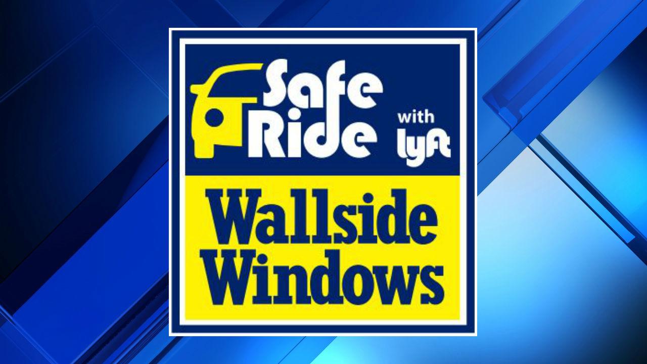 Wallside windows lyft offering 1 2 off safe ride home from for Wallside windows