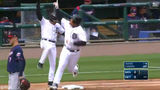 VIDEO: Miguel Cabrera crushes first HR of season to give Tigers lead
