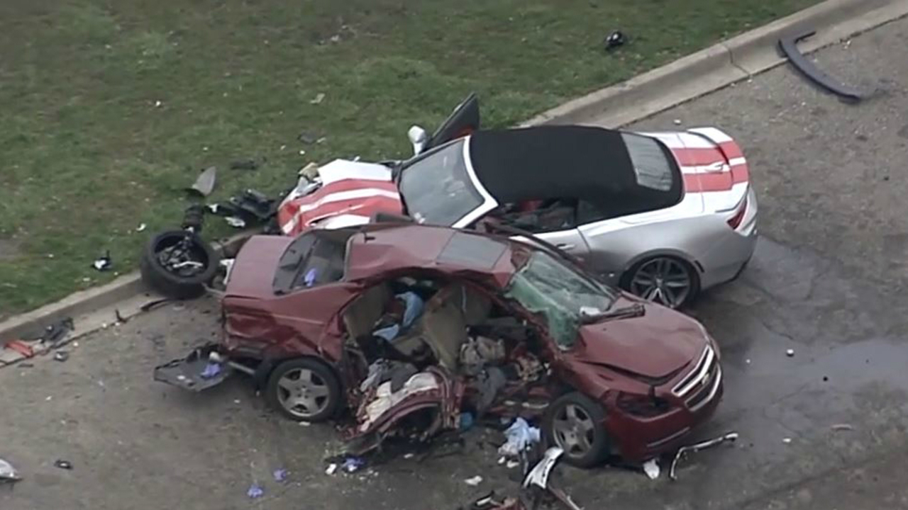 Driver of speeding Camaro who killed two in Detroit crash