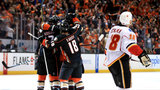 Flames on wrong side of tricky bounce again, fall to Ducks 3-2
