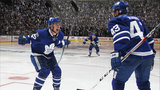 Leafs do it again: Bozak's OT goal gives them series lead over Capitals