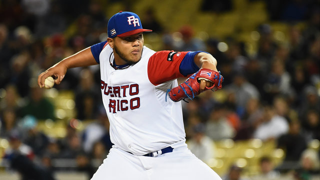 Joe Jimenez World Baseball Classic team Puerto Rico