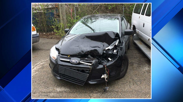 Karen Spranger crashes county car