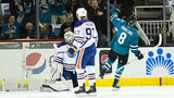 Sharks even series with 7-0 win over Oilers in Game 4