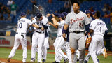 Rays beat Tigers 8-7 on error in ninth