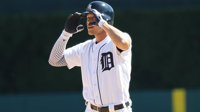 Detroit Tigers reinstate CF JaCoby Jones to replace Mikie Mahtook on roster
