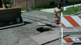 Sinkhole causes problems for Detroit church