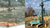 Fraser sinkhole update: Crews drilling, installing piers