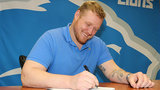 T.J. Lang on signing with hometown Detroit Lions: 'It's been awesome'