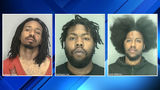 3 Detroit men accused of stealing cash, guns, more from Livonia homes