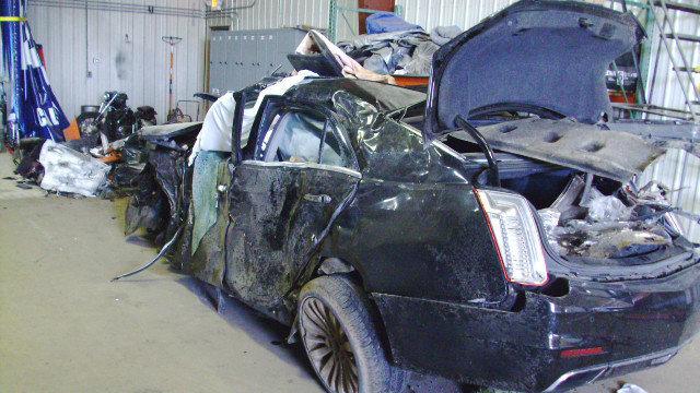 Livingston County deadly car crash mangled car from back image_1494448861096.JPG