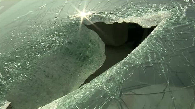 Driver injured by flying chunk of concrete on I-696 in Warren