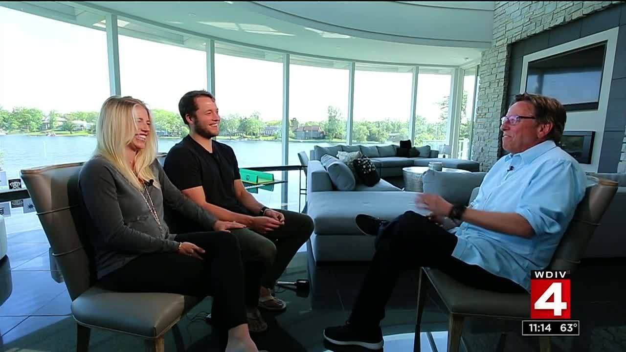 Video Thumbnail For Matthew And Kelly Stafford Interview About Twins
