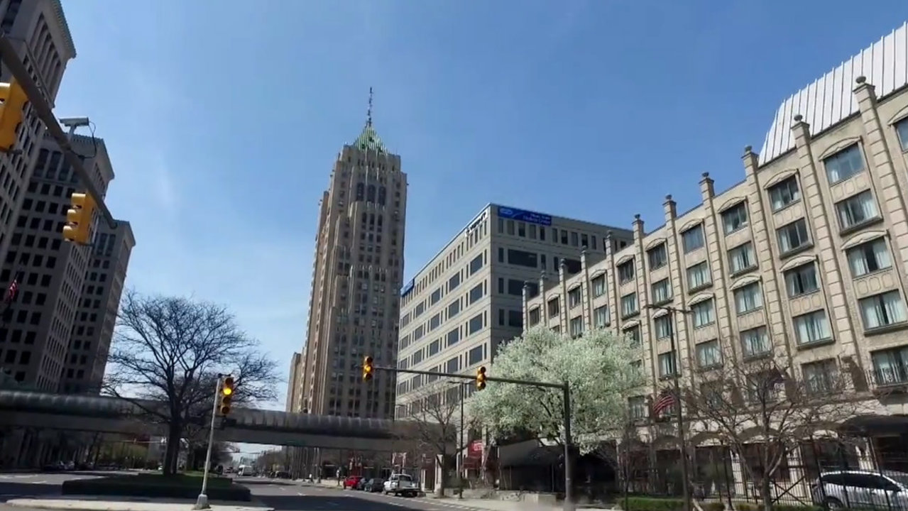 60 historic flags will be on display in Detroit's Fisher Building for Flag Day