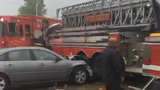 Firefighter injured after teenage driver crashes into fire truck on&hellip&#x3b;