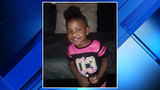 2-year-old girl hit in head by brick thrown through car window in Detroit