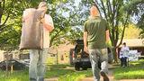 Volunteers renovate veteran's home