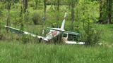 Pilot recovering after hard landing at Ray Community Airport in Ray Twp