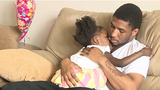 2-year-old girl hit by brick thrown through car window now home