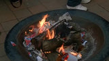 Confederate flag burned during art performance in Midtown Detroit