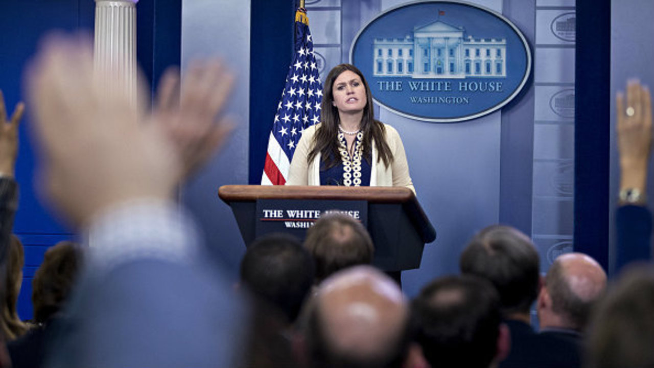 live stream: white house press briefing with sarah huckabee