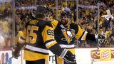 Penguins rout Predators, 6-0, to inch closer to back-to-back Stanley Cups