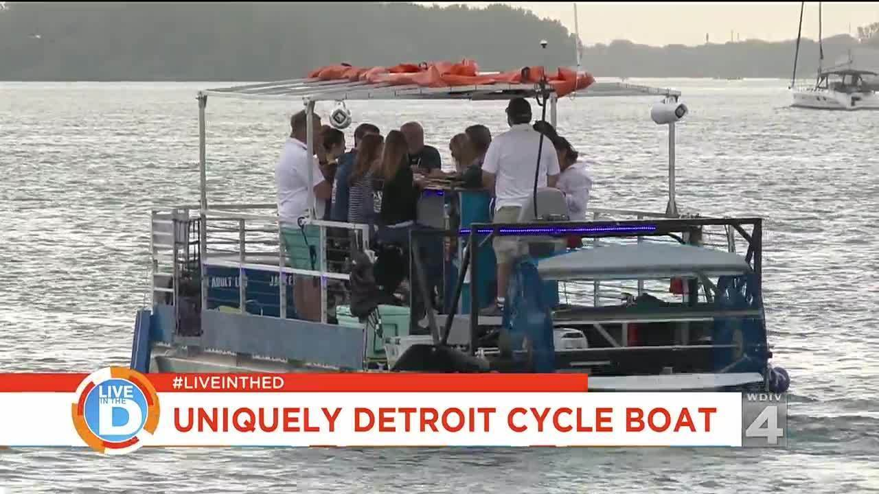 Detroit Cycle Boat
