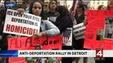 Anti-deportation rally in Detroit